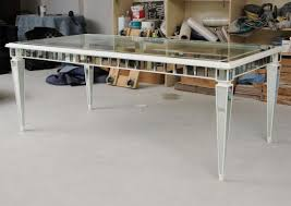 Mirrored Dining Table Creative Decoration Mirror Dining Table Things Offered By The
