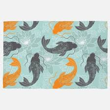 Koi Outdoor Rug Blue Koi Fish Rugs Blue Koi Fish Area Rugs Indoor Outdoor Rugs