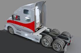 volvo truck tractor truck 3d model