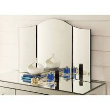 Folding Vanity Table Vanity Tri Fold Mirror For Dressing Table Or Console