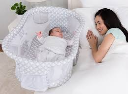 Baby Bed Attached To Parents Bed Halo Bassinest Swivel Sleeper Bedside Bassinet For Baby