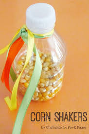 corn shakers activity early learning fall harvest and