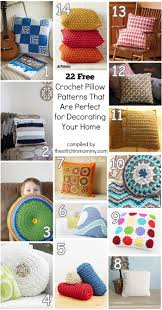 Home Patterns by 22 Free Crochet Pillow Patterns That Are Perfect For Decorating
