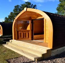 Loch Lomond Cottage Rental by New Pods Bring Glamping To Lomond Woods Holiday Park Love Loch