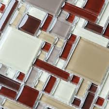 beautiful crystal glass tile for bathroom wall tiles and kitchen home elements crystal glass tile magic pattern tile glossy glass tile mosaic floor tile cob0056