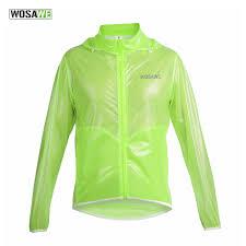 waterproof bike jacket wosawe waterproof windproof cycling dust coat wind coat bike jacket
