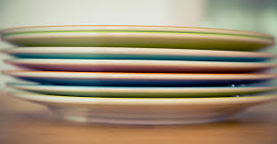 book plates dishes keeping a set of dishes for food we re not supposed to eat the