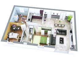 plan de maison avec cuisine ouverte amenager petit salon avec cuisine ouverte 6 plan maison