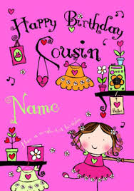 cousin birthday card send cousin birthday cards funky pigeon