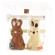 white chocolate bunny fairtrade ami white chocolate bunny fairtrade labels