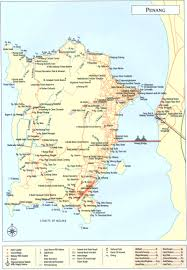 Georgetown Map Large Penang Maps For Free Download And Print High Resolution