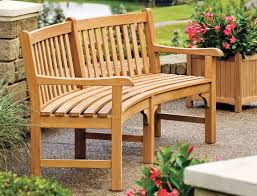 Curved Outdoor Benches Oxford Garden Shorea Essex Curved Garden Bench 83