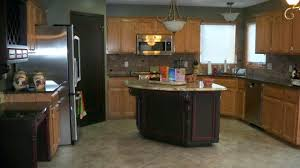 Kitchen Colors Dark Cabinets Kitchen Colors With Oak Cabinets And Black Countertops