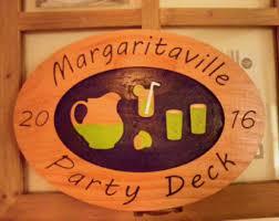 Margaritaville Home Decor Margaritaville Sign Etsy