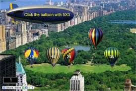 tables in central park multiplication game central park air balloons interactive