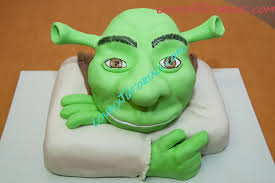 shrek cake tutorial how to make