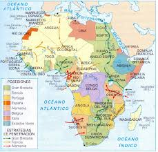 Africa Map 1914 by 100 Scramble For Africa Map Map Of Africa Africa Map
