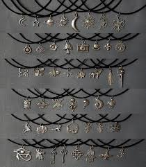 short charm necklace images Best 25 charm necklaces ideas blue charm chan luu jpg