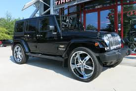 black jeep black rims 22