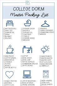 College Toiletries Checklist Single Mom U0027s Guide College Dorm Packing 101 Porch Daydreamer