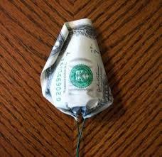 how to make a money rose feltmagnet