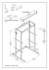 Diy Wood Squat Rack Plans by 198 Best Plans To Build Your Own Gym Images On Pinterest Fitness