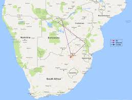 Africa Map Games by South Africa Victoria Falls And Botswana Tour 10 Days 9 Nights