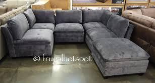 Sofa Sectionals Costco 6 Modular Fabric Sectional Costco Frugalhotspot
