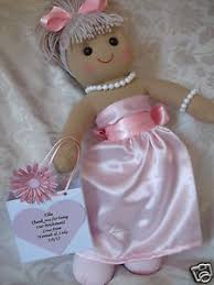 flower girl doll gift personalised flower girl doll bridesmaid rag doll gift ebay