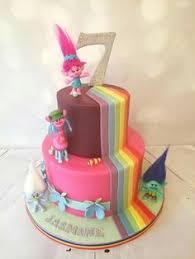 poppy from trolls cake by hima bindu delightful fun