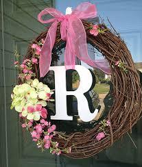 Wreath Diy 10 Minute Diy Front Door Wreath Door Wreaths Felt Flowers And
