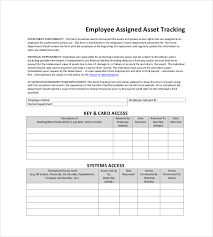 8 asset tracking templates u2013 free sample example format download