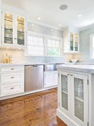 blue kitchen tile backsplash blue subway tile backsplash transitional kitchen hton design