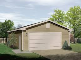 19 single garage plans front elevation large single family