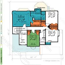 crawford 2408 traditional home plan at design basics