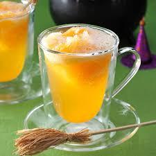 orange witches u0027 brew punch recipe taste of home