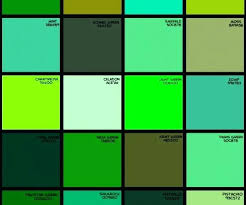 shades of green paint shades of green color names list of shades of blue medium size of