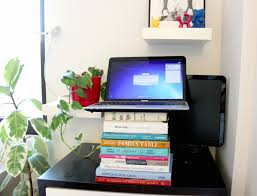 do it yourself standing desk design ideas diy standing desk stacked b 8 inexpensive diy