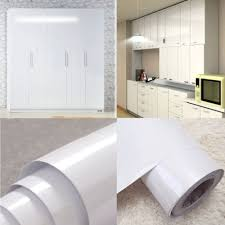 white gloss kitchen cupboard wrap glossy white vinyl self adhesive kitchen cupboard cover