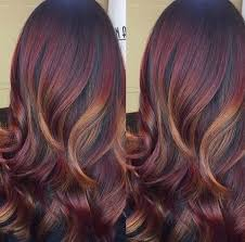 mahoganey hair with highlights the sexiest mahogany hair color inspiration hair fashion online