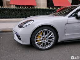 Porsche Panamera Black Rims - crayon colored 2017 porsche panamera turbo spotted on paris streets