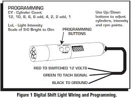 how to install an msd programmable digital shift light on your