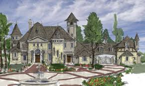 Luxury Homes Mansions Plans Design Architect - French country home design