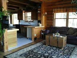 kitchen livingroom rent like a champion log home with beautiful scenery