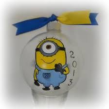 minion ornaments crafts minion ornaments ornament