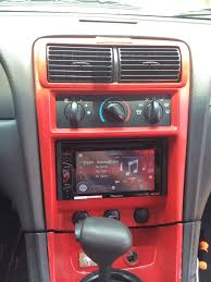 2014 Mustang Wiring Diagram Backup Camera Installed A New Touch Screen Radio Mustang Evolution