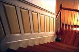 Cost Of Wainscoting Panels - wainscoting and paneling for stairs