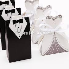 Wedding Dress Box Aliexpress Com Buy Wedding Dress U0026tuxedo Candy Paper Box Party