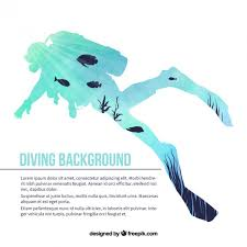 free diving vectors photos and psd files free download