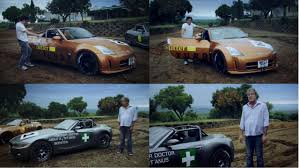 nissan 350z top gear top gear are at it again funny